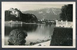 """CPSM S/w Photo AK Slowenien,Jugoslavija  Bled/Veldes 1936 """"Letovisce Bled,Jugoslavija-Ortsblick """"1 AK Used - Slovénie"""