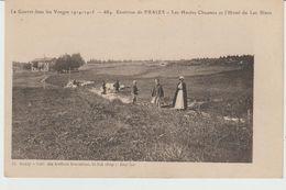 CPA ENVIRONS De FRAIZE (88) LES HAUTES CHAUMES Et L' HÔTEL DU LAC BLANC - ANIMEE - LA GUERRE DANS LES VOSGES 1914-1915 - Fraize