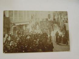 ESPAGNE-SOLLER CARTE PHOTO J BUSQUETS CALLE DEL MAR 280-ANIMEE SELECTION  PROCESSION - Otros