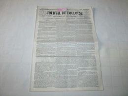 ARIEGE - REBOISEMENT DES FORÊTS DE L'ARIEGE - 1844. - Journaux - Quotidiens