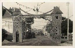 Themes Div-ref EE892- Carte Photo Non Située - Entree Village A Identifier - - Postcards