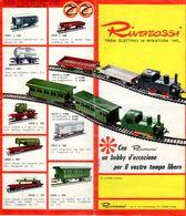 Catalogue RIVAROSSI 1963 TRIX Folder  Un Hobby D'eccezione HO 1/87 - En Italien - Boeken En Tijdschriften