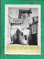 Photo Originale La Roche-Posay (86) La Porte De La Ville 2scans - Plaatsen