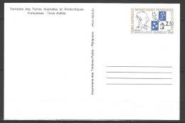 "TAAF Entiers Postaux YT 1-CP "" Max Douguet "" 1991 Neuf** - Enteros Postales"