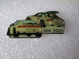 PIN'S      PORSCHE  911 IAA 2001 - Porsche
