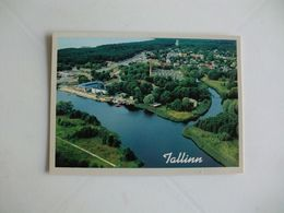 Postcard Postal Estonia Tallinn View Over Pirita - Estland