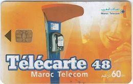 Telecartes  Maroc Telecom 60 Unites Annee 1975 - TAAF - Terres Australes Antarctiques Françaises