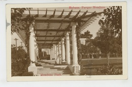 ANTILLES - CUBA - HABANA - Parque Mendoza - Cuba