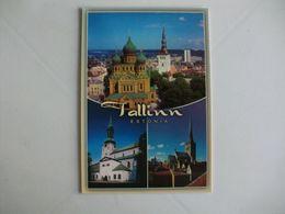 Postcard Postal Estonia Tallinn - Estland
