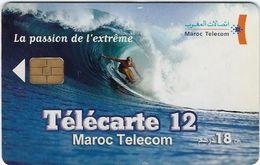 Telecartes  Maroc Telecom 12 Unites La Passion De L'extreme - TAAF - French Southern And Antarctic Lands