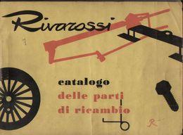 Catalogue RIVAROSSI 1961 Parti Di Ricambio 1-10-1961 - En Italien - Boeken En Tijdschriften
