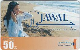 Telecartes  Maroc Telecom 50 Unites Jawal - TAAF - French Southern And Antarctic Lands