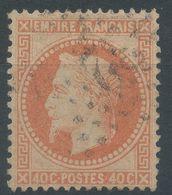 Lot N°55984   N°31, Oblit étoile Chiffrée 32 De PARIS (R.de La Ste-Chapelle), Ind 14 Ou (Quai-des-Orfèvres), Ind 18 - 1863-1870 Napoléon III Lauré