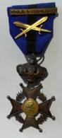 Militaria. Médaille Décoration. Ordre De Léopold II. Barette Corée - Korea - Belgio