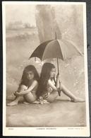 Rita Martin Summer Showers Little Girls Fillette Nu Postcards Carte - Postcards