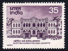 India 1980 150th Anniversaru Of Scottish Church College, MNH, SG 981 (D) - Neufs