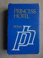 Ancien - Mini Savon Publicitaire Princess Hôtel Roma Italie - Other