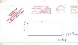 Lettre Flamme  Ema Nantes Faculté De Droit - Marcophilie (Lettres)
