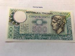 Italy 500 Lire Uncirc. Banknote 1974 #2 - 500 Lire