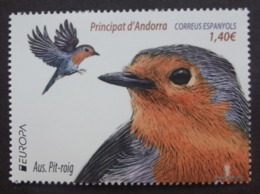 Andorra  SP   Europa  Cept   Nationale Vögel   2019    ** - 2019