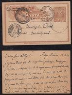 Uruguay 1904 Postcard Stationery 2c FRAY BENTOS To WISMAR Germany - Uruguay