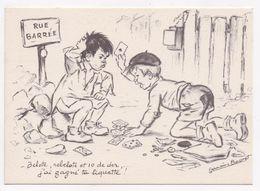 CP ILLUSTRATEUR Germaine BOURET - Bouret, Germaine