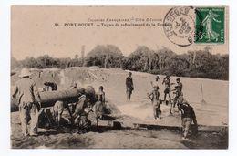PORT BOUET - TUYAU DE REFOULEMENT DE LA DRAGUE - Ivoorkust