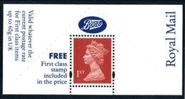 Machin Boots Label MNH - 1952-.... (Elizabeth II)