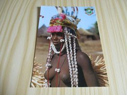 Boundiali (Côte D'Ivoire).Jeune Danseuse. - Costa D'Avorio