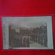 CARTE PHOTO GRECE MILO MARINS 1918 - Grecia