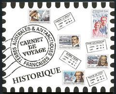 """TAAF Carnet Prestige YT C418 """" Carnet De Voyages (418 à 428) """" 2005 Neuf** - Boekjes"""