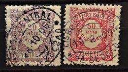 PORTUGAL : 1904 - TAXE N° 9 Et 12 - Port Dû (Taxe)