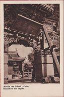 Old Mission Missionary Postcard China Chine Missie Scheut Interior Of Temple Binnenkoer Der Pagoda Pagoda Gate - Cina
