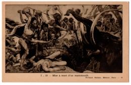 CPA Histoire - I. 10. Mise à Mort D'un Mammouth - Ed. Fernand Nathan - Geschiedenis