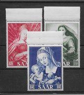 Sarre N°331/333 -  Neuf ** Sans Charnière - TB - Nuevos