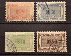 PORTUGAL : 1932 - TAXE Entre N° 51 Et 56 - Port Dû (Taxe)