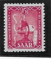Sarre N°252 -  Neuf * Avec Charnière - TB - Nuevos