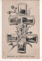 Carte Croix De Lorraine Multivue : Souvenir De Damblain ( Vosges ) écrite Le 11/03/18 - Guerra 1914-18