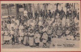 Old Missionary Postcard China Chine Missie Van Mission  De Scheut Weeshuis Orphélinat Orphenage Enfant Child Natives CPA - Cina