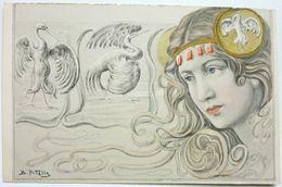 FEMME - B PATELLA - Autres Illustrateurs