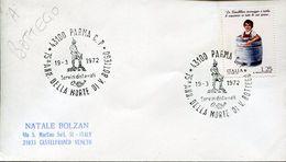 55169 Italia, Special Postmark Parma 1972 -  75° Anniversario Morte Vittorio Bottego, Alpini - Italie