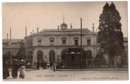 CPA 35 - RENNES (Ille Et Vilaine) - 1030. La Gare - G. F. - Rennes