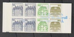 Bundesrepublik Deutschland / 1985 / Markenheftchen Mi. 24i K4 OZ ** (BM95) - Markenheftchen