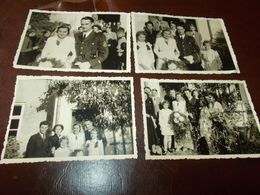 B767  8 Foto Militare Matrimonio Cm10x7 - Fotografia