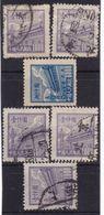 #Z.11982 PR China 1950, Incomplete Set (x), Used, Michel 16, 19, 21: Tian An Men - 1949 - ... République Populaire
