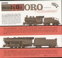 Catalogue RIVAROSSI 1964 Novità MODELLO ORO HO Brochure - Boeken En Tijdschriften