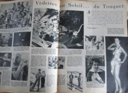 AU TOUQUET  Vedettes Au Soleil Le Touquet Paris Plage - Old Paper