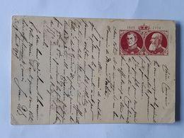 EP 1830-1905 COMMEMORATIF DU ROI DES BELGES LEOPOLD  Vers Un Pharmacien De Pithiviers ... Lot130 . - Postwaardestukken