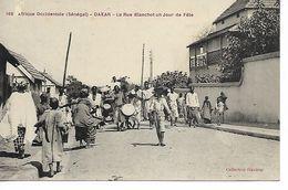 Sénégal DAKAR La Rue Blanchot Un Jour De Fête     .....G - Sénégal