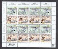 Schweiz ** CEPT Historische Postrouten Schweiz Deutschland Italien Kleinbogen Neuausgabe 7.5.2020 - Switzerland